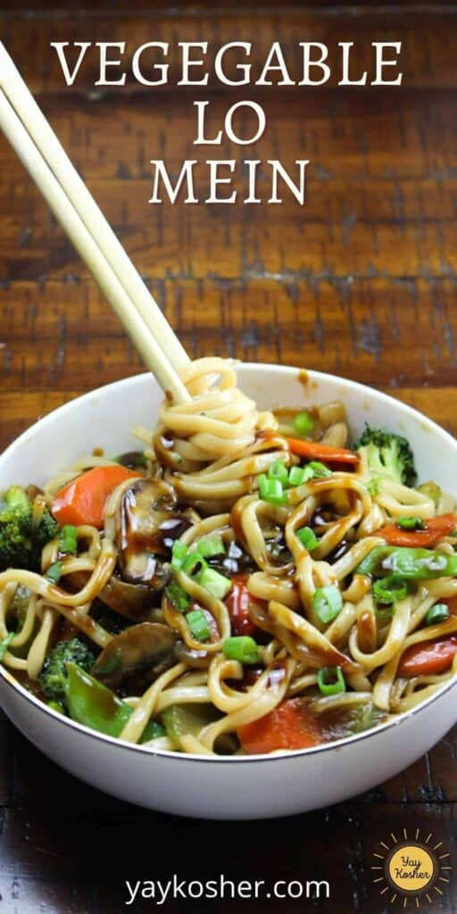vegetable lo mein pin