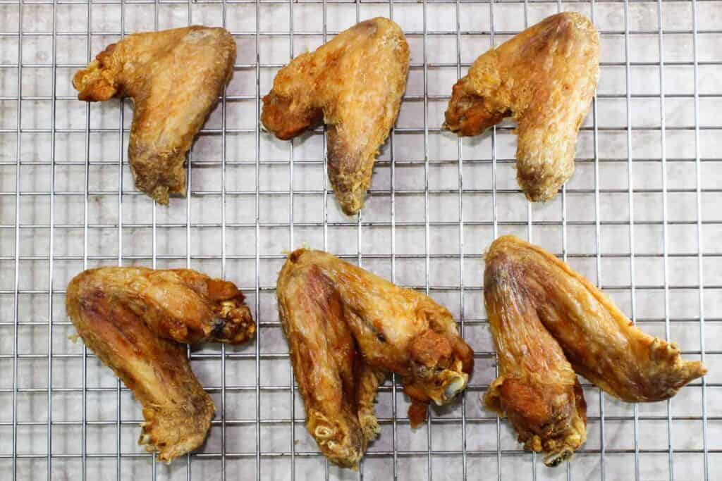 naked wings fully cooked