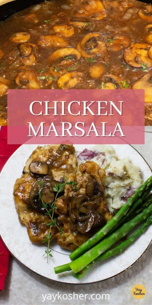 chicken marsala pin