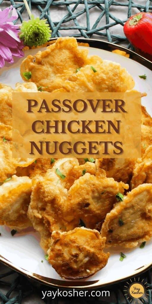 passover chicken nuggets