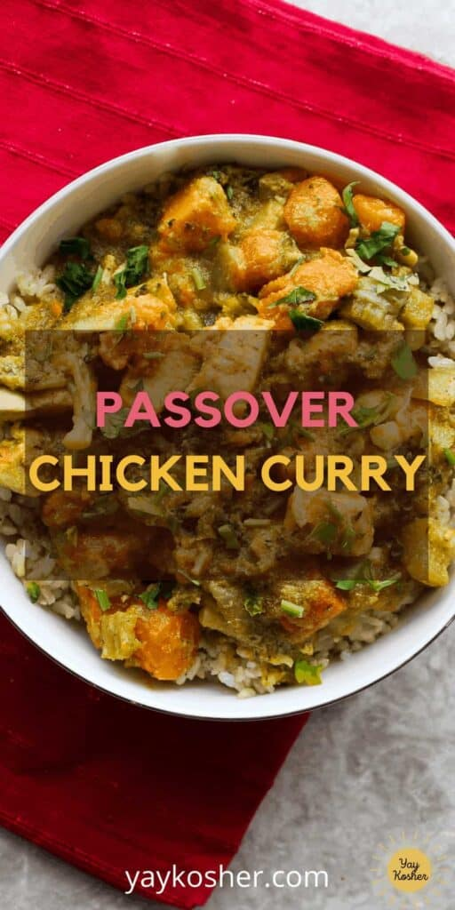 passover chicken curry