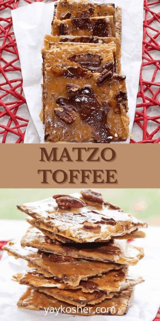 matzo toffee
