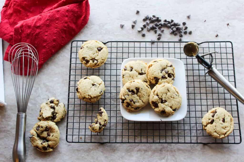 gluten free passover chocolate chip cookies