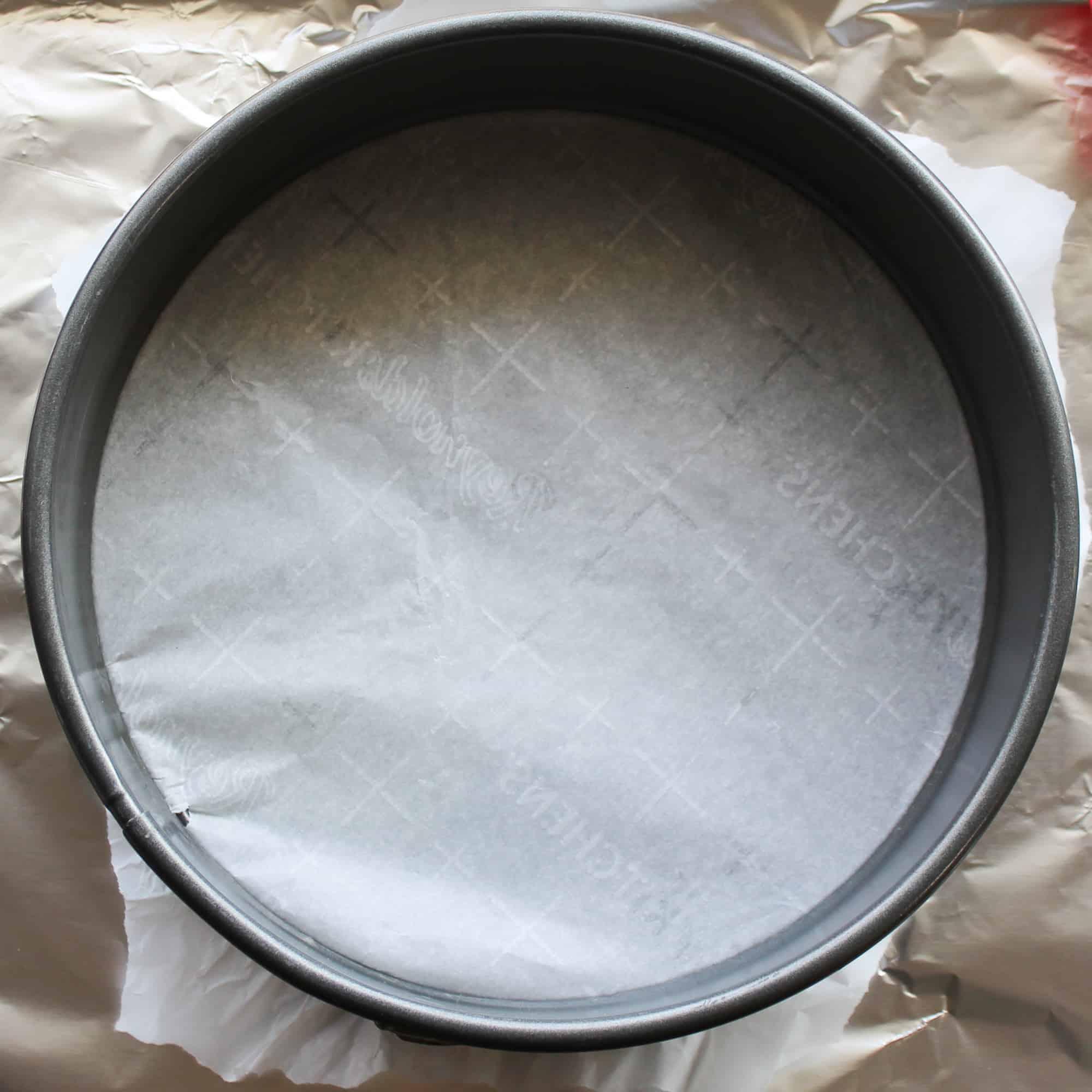cut parchment to fit pan