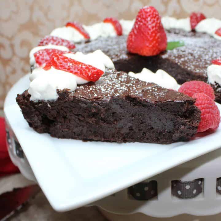 flouless chocolate cake
