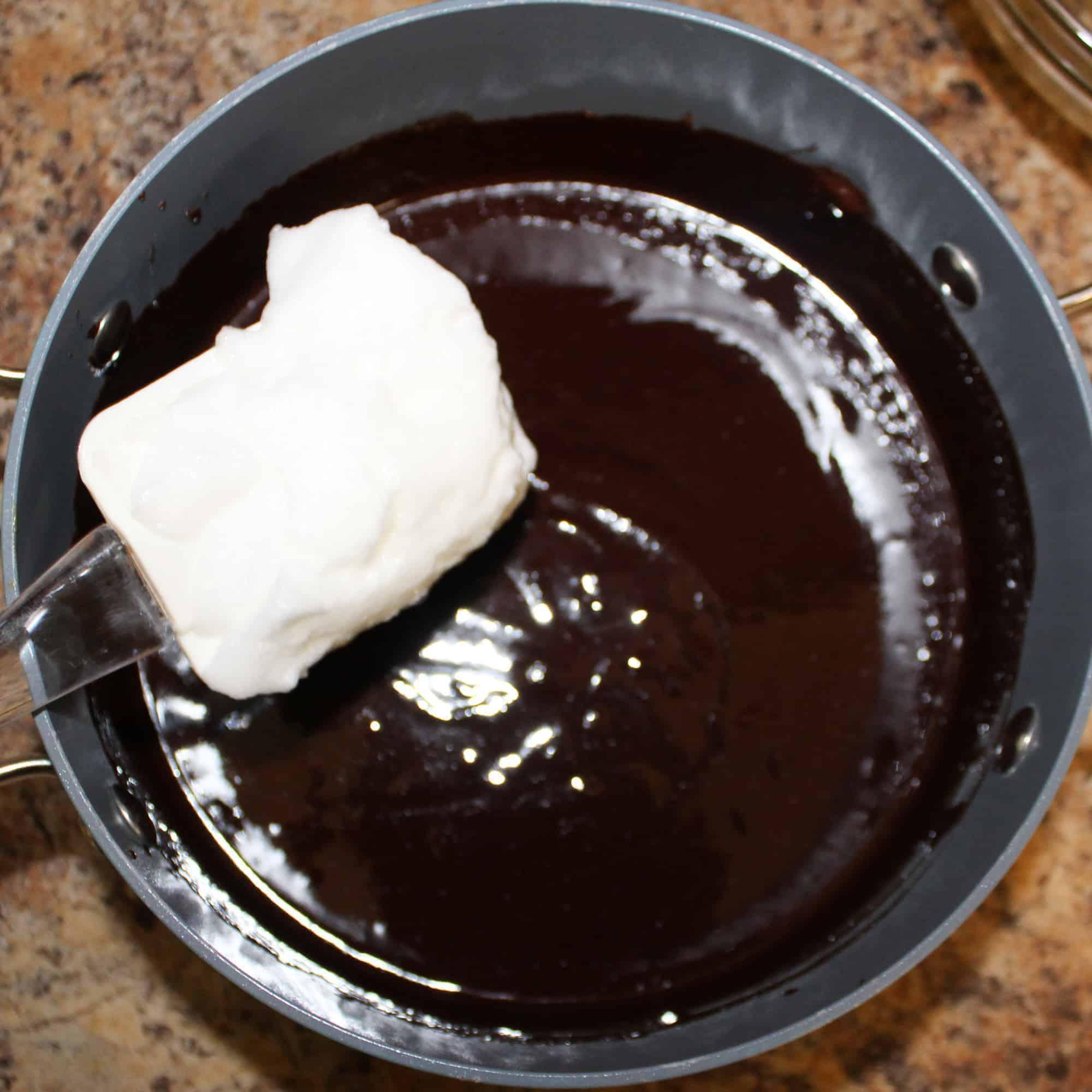 fold in the beaten egg whites
