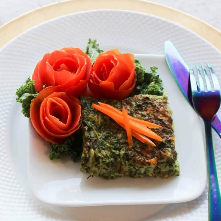 gluten free spinach kugel
