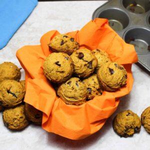 passover pumpkin muffins