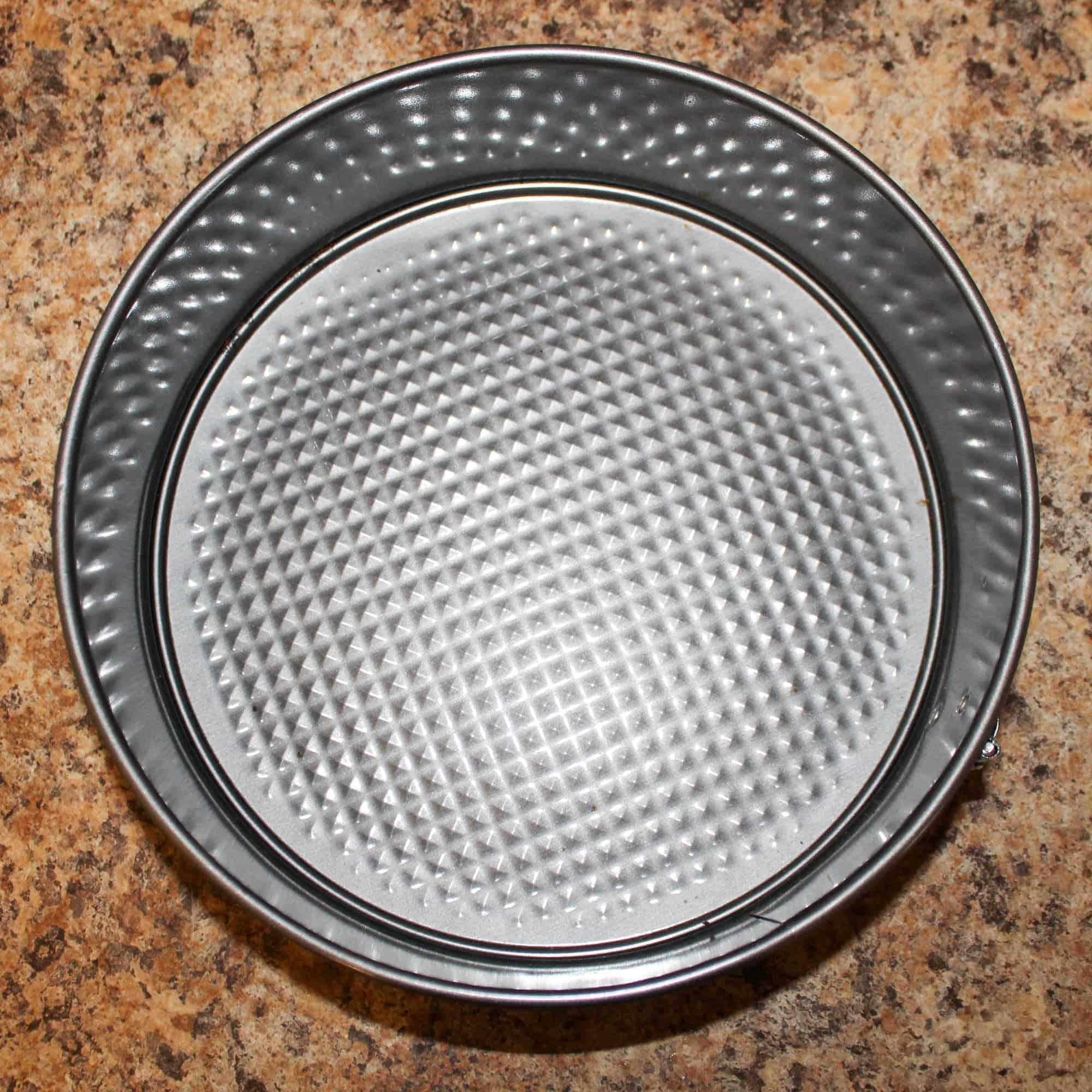 pregreased pan