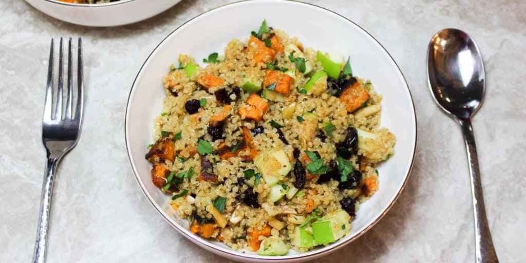 quinoa with cranberries