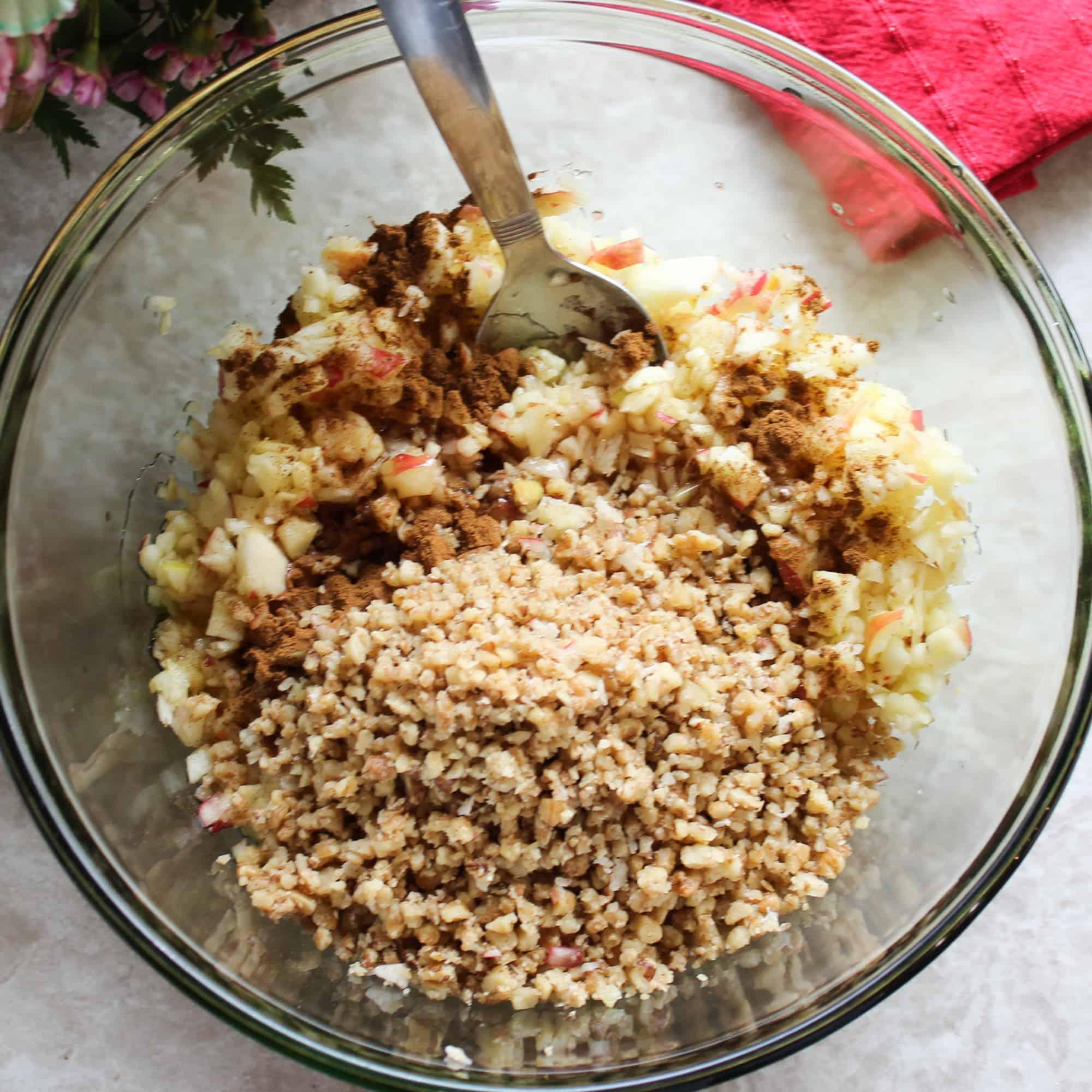 stir in walnuts