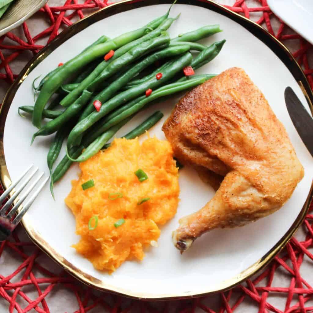 easy roast whole chicken