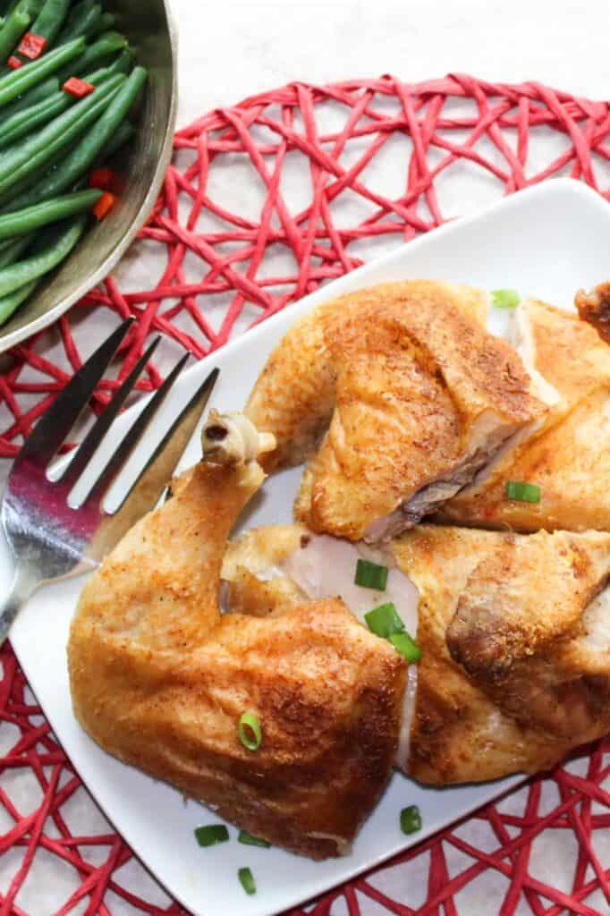 easy whole roast chicken