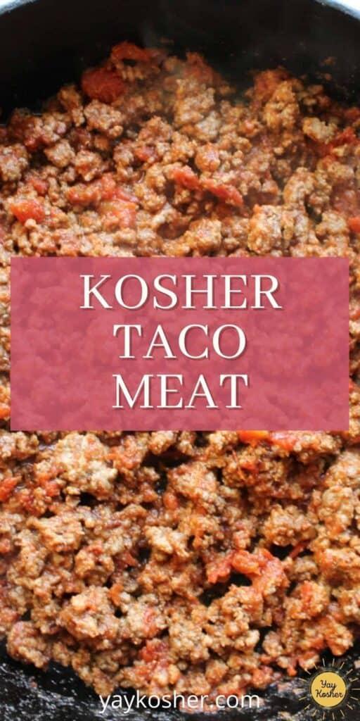 taco meat pinterest pin