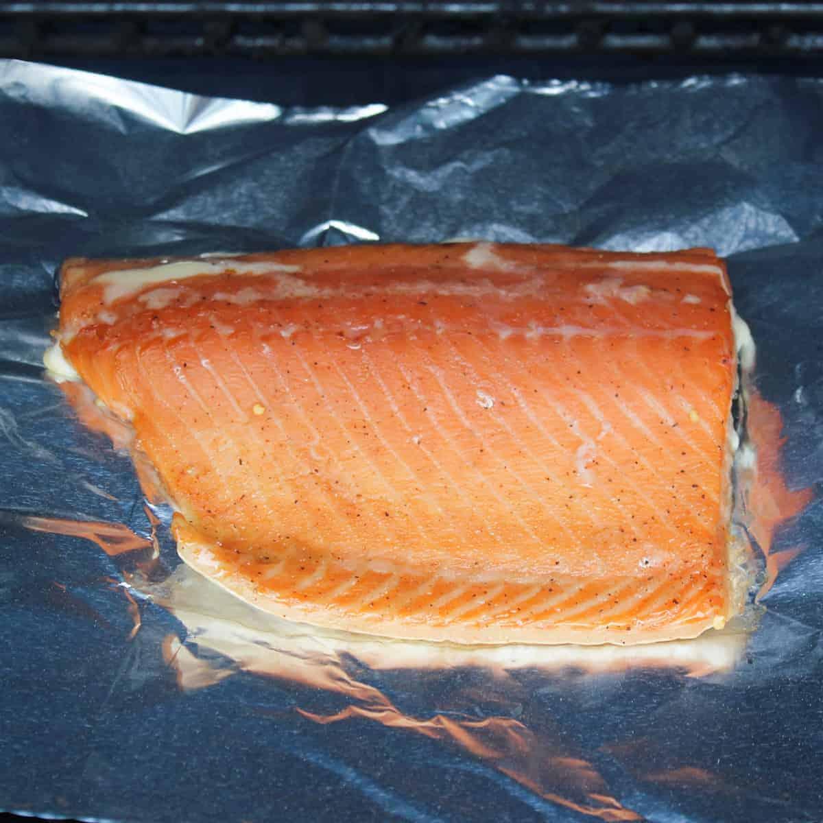 fully smoked salmon