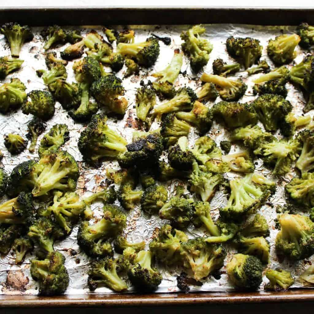 sheet pan broccoli