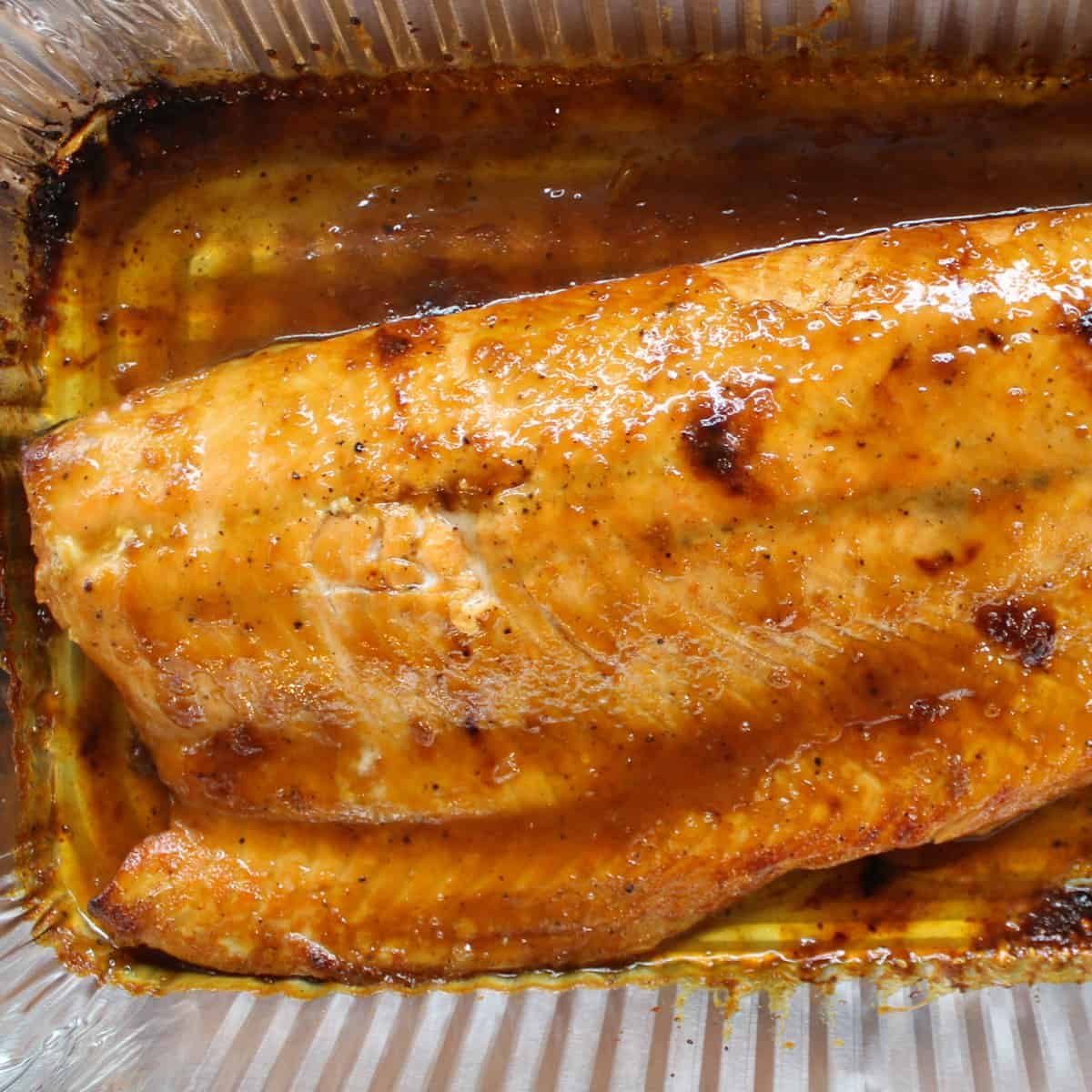 salmon after broiling