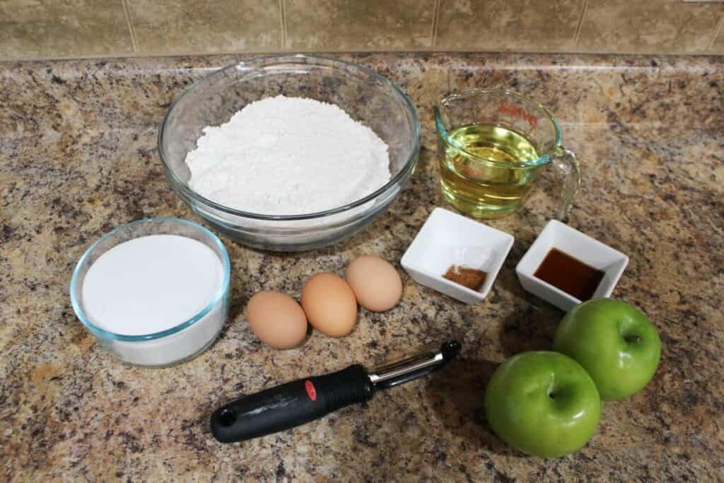 apple cake ingredients