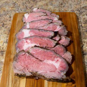 marinated chuck eye roast feature photo